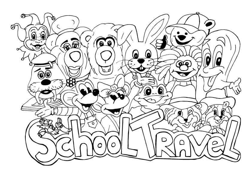 school-travel-kleurwedstrijd